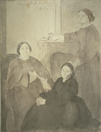 Mme. Michel Musson and Her Daughters, Estelle and Désirée