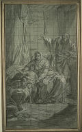 [The Family of Saint John the Baptist, Study, The Family of Saint John, Final Published Work: The Family of Saint John the Baptist, painting, 1771, Church of Saint-Martin in Castres]