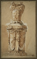 [Design for a Monumental Vase, Monumental Vase, Study for a Monumental Vase]