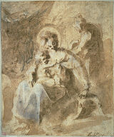 [The Holy Family Resting on the Flight into Egypt, Rest on the Flight into Egypt, Le repos pendant la fuite en Egypte]