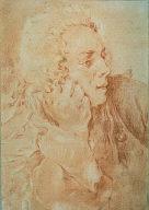 [Half-Length Portrait of Francois Boucher, Portrait of Francois Boucher, Portrait of Francois Boucher (?)]