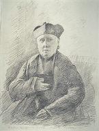[Portrait of Abbé Jouveau Corot, The Abbot Jouveau, Curate of Coubron, M. L'Abbé Jouveau, Curé de Coubron]