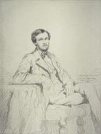 [Portrait of Eugène Lacheurié, Portrait of the Composer Lacheurié, Portrait of a Seated Man, A Seated Man]