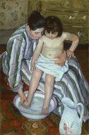 [The Child's Bath, La Toilette]