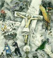 [White Crucifixion, La Crucifixion blanche, Weisse Kreuzigung, La Crucifixion blanche]