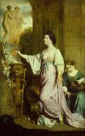 Lady Sarah Bunbury Sacrificing to the Graces