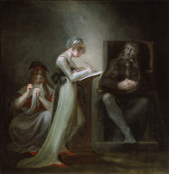 Milton Dictating to His Daughter