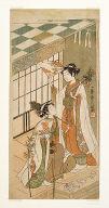 The shrine dancers (miko) Ohatsu and Onami