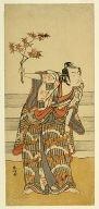 The actor Ichikawa Monnosuke II in an unidentified role
