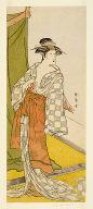 The actor Segawa Kikunojo III as a courtesan in summer attire