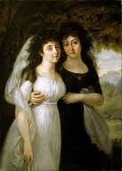 [Portrait of the Maistre Sisters, Portrait des Demoiselles Maistre]