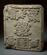 [Coronation Stone of Moctezuma II ('Stone of the Five Suns'), Stone of the Five Suns]