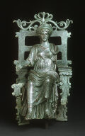 Statuette of an Enthroned Figure