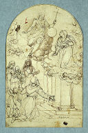 Vision of Saint Francis of Assisi at Portiuncula
