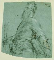 Half-length Figure Study for Saint Paul
