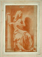 Fortitude or Strength (La Force): Study for 'Cabinet du roi'
