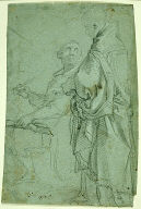 Two Ecclesiastics: Study for the Disputation on the Holy Sacrament