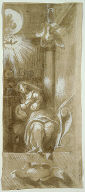 Study for the Virgin Annunciate