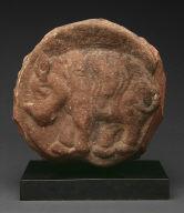Medallion with Rhinoceros