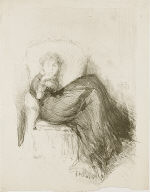 [Study: Maud Seated, Maude Seated, The Model's Rest, A Lady in a Big Chair]