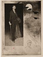 [Count Robert de Montesquiou-Fezensac, Count Robert de Montesquiou-Fezensac, after Whistler]
