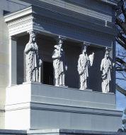 Four of Eight Caryatid Figures