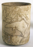 Vase with Incised Figure