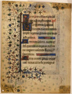 Page from a Book of Hours: Presentation in the Temple
