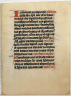 Page from a Prayer Book