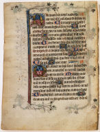 Page from Salisbury Cathedral Book of Hours