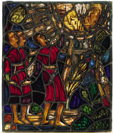 Three Figures Beholding a Vision of the Heavenly City