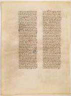 """Page from """"Commentary In The Sentences"""" by St. Thomas Aquinas"""