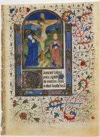 Page from a Book of Hours: Crucifixion