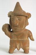 Man Carrying a Bowl on Shoulder