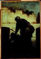 Laundress On The Quai D'Anjou