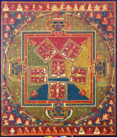 Six Mandalas: Vajradhara and the Familial Lords