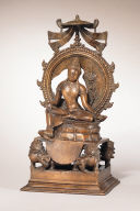 Bodhisattva Manjushri in the Form of Sita Manjughosa