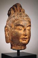 Head of a Bodhisattva, Perhaps Mahasthamaprapta