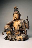 Bodhisattva Avalokiteshvara in the Form of Chintamanichakra (Nyoirin Kannon)