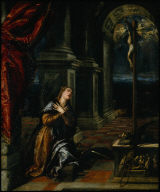 St. Catherine of Alexandria at Prayer