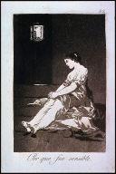 Por que fue sensible. (Because she was susceptible); Plate 32 bound into