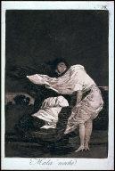 "Caprichos 36 -- Mala noche [A Bad Night], from the series ""Los Caprichos"""