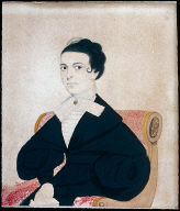 Portrait of a Lady in a White Stock