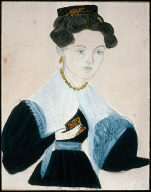Portrait of Young Woman in White Fichu