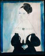 Portrait of Young Lady with Comb in her Hair
