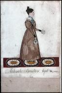 [Portrait of Achsah Stanton, Achsah Stanton, Aged 18 years 1833]