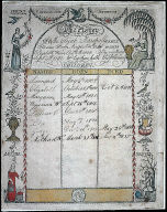 [Family Register, Family Register used for the family of Elijah and Elizabeth Winn Marshal]