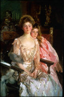 Mrs. Fiske Warren (Gretchen Osgood) and Her Daughter Rachel