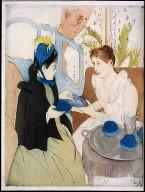 [Afternoon tea party, La tasse de thé, 1891, Afternoon Tea Party]