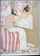 [La coiffure, 1891, The Coiffeurs]